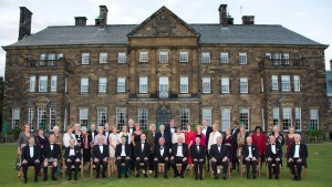 TSS Members and their partners. Crathorne Hall Sept 2015